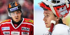 Max Lindholm och Jonas Arntzen. Foto: Maxim Thore/BILDBYRÅN och Peter Holgersson/BILDBYRÅN