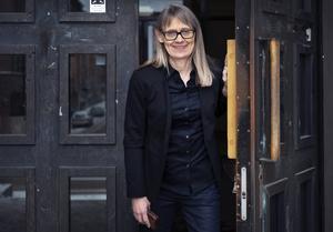 Ann Larsson, chef för nationellt godkända idrottsutbildningar vid Sundsvalls gymnasium.