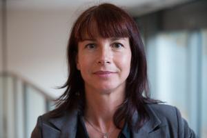 Sverigedemokraternas gruppledare Beata Milewczyk.