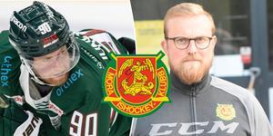 Daniel Ljunggren gjorde 34 poäng i Tingsryd förra säsongen, nu är han klar för Mora. Foto: Melker Westerberg/Daniel Eriksson/BILDBYRÅN