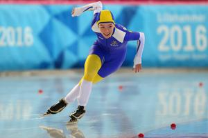 Erika Lindgren.  FOTO: Al Tielemans for YIS/IOC