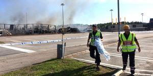 Polisen har inlett en förundersökning för att utreda vad som orsakade  branden.