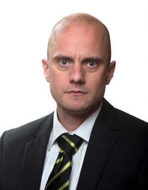 Fredrik Wallin, kriminalvårdschef. Bild: Kriminalvården