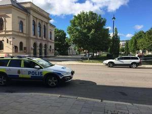 Dagen efter dådet var Köpmangatan och Esplanaden avspärrad i flera timmar.