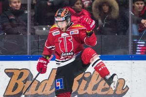Tom Wandell gjorde fem mål för Örebro den gångna säsongen, här efter ett drömmål hemma mot Frölunda. Bild: Dennis Ylikangas/Bildbyrån