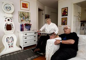 Matti och Anneli Kohtala tycker att det ska finnas finskspråkiga äldreboenden.