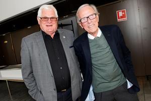 Tidigt på plats var Roger Karlström och Assar Strömberg.