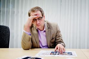 Mikael Nyqvist är ny spaningsledare för utredningen av mordet på Lena Wesström. (Bilden är beskuren och tagen i ett tidigare sammanhang.)