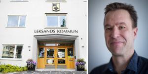 Lars Bäcksholm tycker det känns skönt att det finns en ekonomisk plan och säger att Leksand har goda förutsättningar för att få en ekonomi i balans.(Foto: Lars Dahlström)