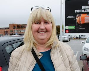 Karin Landmark, 53, sjukvårdsbiträde, Sundsvall.