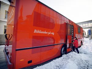 Västerås nya bokbuss 2003. Foto: Magnus Eriksson/VLT:s arkiv