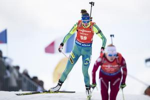 Åkningen är en stark egenskap i Hanna Öbergs skidskytte.
