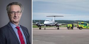 Tomas Högström (M) anser att vinsterna med att ha kvar Västerås flygplats är större än kostnaderna.