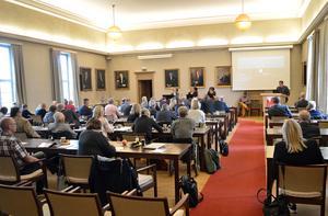 Kommunfullmäktige i Borlänge. Sista sammanträdet under mandatperioden.