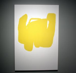 Jakob Ojanen har länge arbetat med digitala verktyg för att skapa sin konst och målningarna i utställningen är gjorda i en mobilapp.