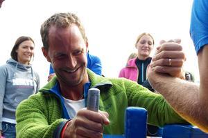 Inte ens OS-guldmedaljören Anders Södergren rådde på Ronny Dahl från Lillhärdal.