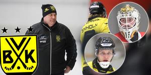 Patrik Johansson. Infällda: David Borvall och nyförvärvet Santtu Nurmi.