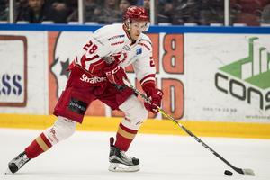 Sebastian Benker var en av Troja-Ljungbys bästa spelare förra säsongen. Nu är 26-åringen klar för VIK. Foto: Petter Arvidson / BILDBYRÅN