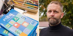 """""""Det är ganska dåligt med pengar innan, det är väl därför vi får mer pengar för att vi ska kunna erbjuda det man ska kunna erbjuda"""", säger Nicklas Olivensjö, rektor på Centralskolan i Norberg."""