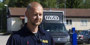 Per Mossnelid, insatsledare på räddningstjänsten.