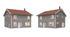 Efter att kommunen ändrat detaljplanen kan Götenehus nu bygga två våningar. Illustration: Götenehus