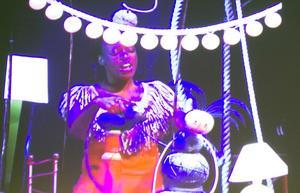 Bild ur video om Oily Cart Theatre i England.
