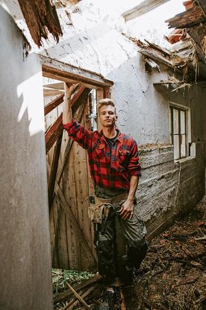 Daniel är uppvuxen i närheten och visste att gården var något speciellt.