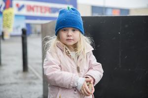 """Catalina Torpling, 4 år, går på förskolan, Järna: """"Ett fotbad med kulor i som jag har sett reklam för på tv."""""""