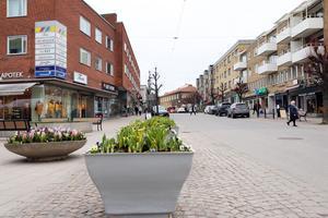 Ett levande centrum är viktigt, säger Niclas Axelson, ordförande i Nynäshamns stadskärneförening.