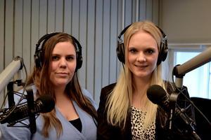 Linnéa Bohlin och Amanda Karlsson gör podcasten Mordpodden, där de tar upp mord. Under hela den sjätte säsongen av Mordpodden kommer duon att fokusera på mord som begåtts i Dalarna. Foto: Pressbild