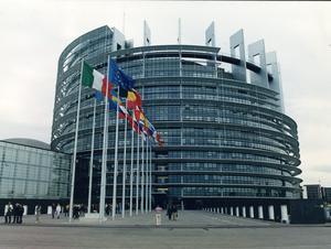 Parlamentet i Bryssel.