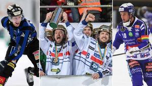 Sirius tippas i botten, svenska mästaren Edsbyn får inget favoritskap i år heller och Villas superlag får inte oväntat en topplacering. Foto: Rikard Bäckman / TT / Andreas Tagg