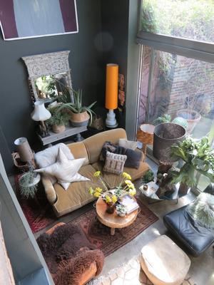 Den brittiska inredningsdesignern Abigail Aherns hem.Foto: Ann-Katrin Berggren