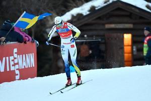 Stina Nilsson under prologen.