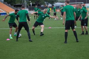 VSK Fotboll är tillbaka i träning efter sommarens uppehåll