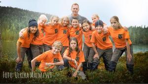 Årets deltagare i Wild Kids. Foto: Ulrika Malm/SVT