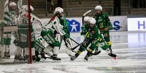 Skutskär blev första lag att sno åt sig poäng mot serieledande VSK denna säsong.