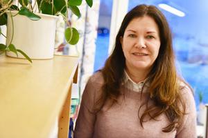 Anita Nilsson Nääs, verksamhetschef, berättar om verksamheten.