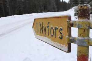 Tack vare Anders Hjärtedals satsning kan Nyfors med några få bofasta komma att leva upp på nytt.