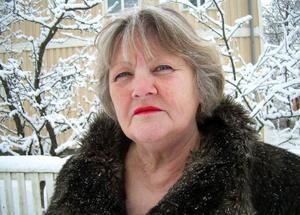 """""""Vi i styrelsen tycker det är trist att så många medlemmar åkte till Jokkmokk istället för att stanna hemma och fira den samiska nationaldagen. Det var bara att ställa in det planerade arrangemanget, säger Inger Jansson som är ordförande i Östersunds sameförening.Foto: Ann-Louise Rönestål EK"""