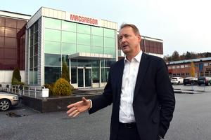 Leif Byström, vd på MacGregor Cranes, ser många fördelar med köpet.