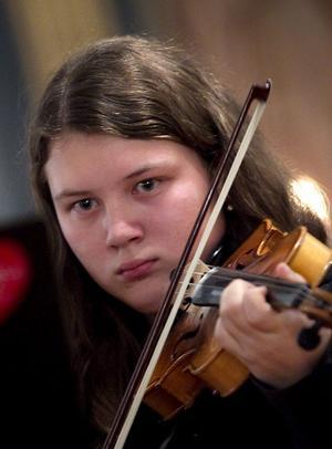 . Linnéa Jonsson spelade Bach