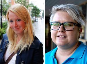 Emma Wallin, tränare i SSS, och NSS-tränaren Maria Öman var nöjda med regionsfinalerna.