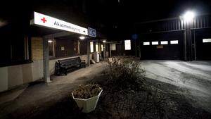 Akutmottagningen, Hudiksvalls sjukhus.