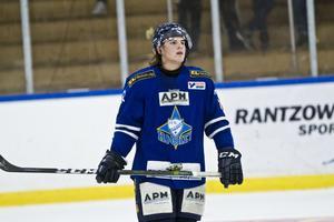 Oskar Olsson har tidigare spelat i Arboga men kommer senast från spel i Malungs IF. Foto: David Eriksson