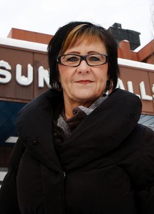 Anita Bdioui är ordförande i Kommunals S-förening i Sundsvall.