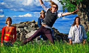... killarna i Hindenburg som faktiskt inte bara spelar Led Zeppelin numera. Foto: Henrik Evertsson