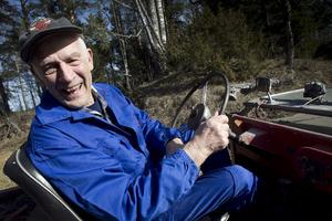 Jeepen har skänkt Tore Svensson och hans familj mycket glädje under utflykterna.