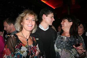The Circus Bar. Eva, Lasse och Ann-Marie