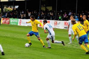 ÖSK-spelaren Adam Bark och de övriga i P17-landslaget får spela den avslutande landskampen på Karlslund arena.